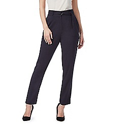 Principles by Ben de Lisi - Navy paperbag waist trousers