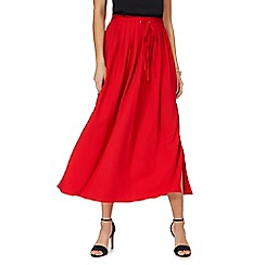 Principles by Ben de Lisi - Red maxi skirt