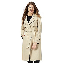 Principles by Ben de Lisi - Natural midi trench coat