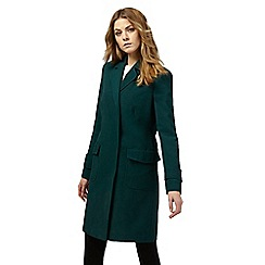 Principles by Ben de Lisi - Dark green belted coat
