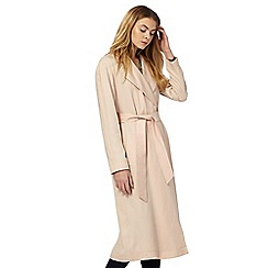 Principles by Ben de Lisi - Pink long trench coat
