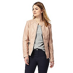 Principles by Ben de Lisi - Light pink biker jacket