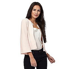 Principles by Ben de Lisi - Light pink edge to edge cardigan