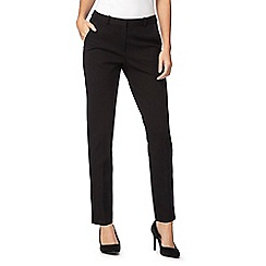 Principles Petite by Ben de Lisi - Black ponte smart trousers