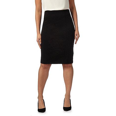 principles by ben de lisi black slim ponte skirt debenhams