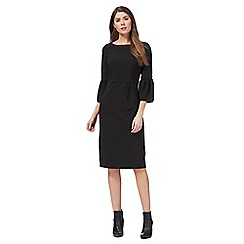 Principles by Ben de Lisi - Black flute sleeve suit dress