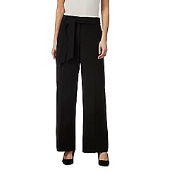 Principles by Ben de Lisi - Black wide leg trousers