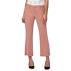 Principles by Ben de Lisi - Rose pink crop trousers