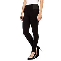 Principles by Ben de Lisi - Designer black slim fit leggings