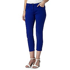 Principles by Ben de Lisi - Designer bright blue cropped jeans