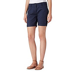 Principles by Ben de Lisi - Designer navy chino shorts