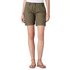 Principles by Ben de Lisi - Designer khaki chino shorts