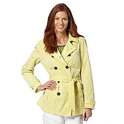 Principles by Ben de Lisi - Designer yellow shirt jacket