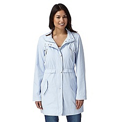 Principles by Ben de Lisi - Designer pale blue parka jacket
