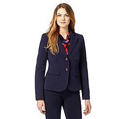 Principles by Ben de Lisi - Designer navy textured jacket