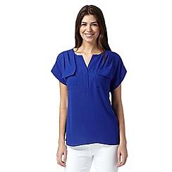 Principles by Ben de Lisi - Designer blue utility shirt