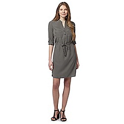 Principles by Ben de Lisi - Designer khaki shirt dress