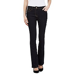 Principles by Ben de Lisi - Dark blue shape enhancing bootcut jeans