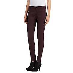 Principles by Ben de Lisi - Purple slim leg jeans