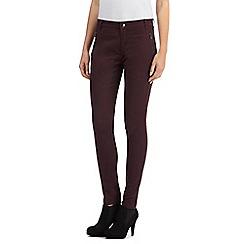 Principles by Ben de Lisi - Purple slim leg jeans