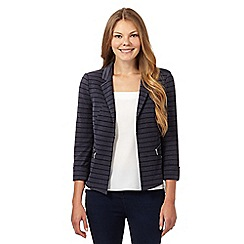 Principles by Ben de Lisi - Designer navy striped jacket