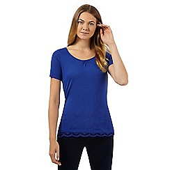 Principles by Ben de Lisi - Designer blue lace back top