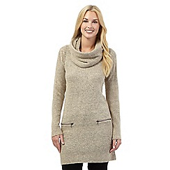 Principles by Ben de Lisi - Natural snood neck tunic top