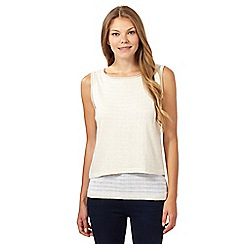 Principles by Ben de Lisi - Designer natural 2-in-1 tank top