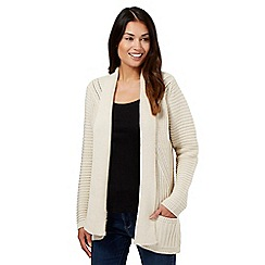 Principles by Ben de Lisi - Natural chunky stitch cardigan