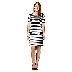 Principles by Ben de Lisi - Designer off white striped tunic dress