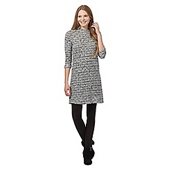 Principles by Ben de Lisi - Grey cowl neck dress
