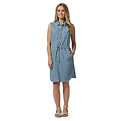 Principles by Ben de Lisi - Designer drawstring denim dress