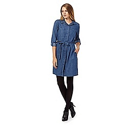 Principles by Ben de Lisi - Dark blue denim shirt dress