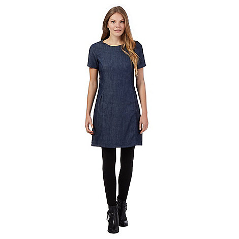 Simple By Jasper Conran Womens Blue Denim Dress From Debenhams  EBay