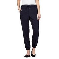 Principles by Ben de Lisi - Navy tencel trousers