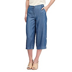 Principles by Ben de Lisi - Blue denim culottes