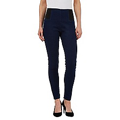 Principles Petite by Ben de Lisi - Navy denim leggings