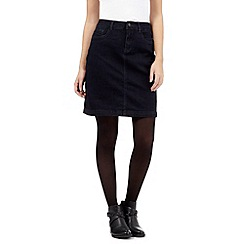 Principles by Ben de Lisi - Dark blue denim skirt