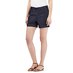 Principles by Ben de Lisi - Navy soft denim shorts