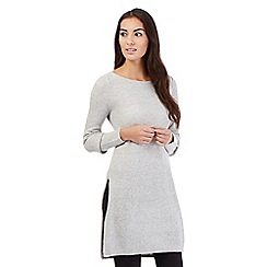 Principles by Ben de Lisi - Grey longline tunic