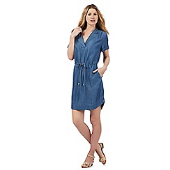 Principles by Ben de Lisi - Blue lightweight denim dress