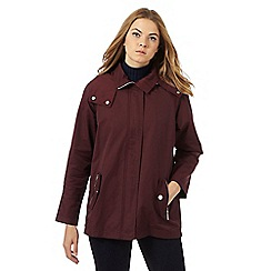 Principles by Ben de Lisi - Plum lightweight jacket