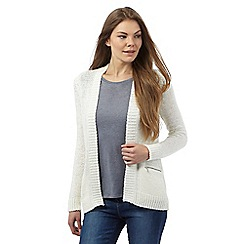 Principles by Ben de Lisi - Ivory edge to edge cardigan