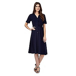 Principles by Ben de Lisi - Navy shirt dress