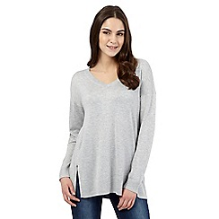 Red Herring - Grey V neck jumper