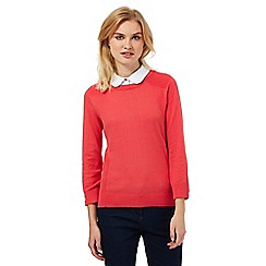 Red Herring - Dark peach 2-in-1 jumper