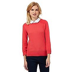 Red Herring - Dark peach 2-in-1 jumper