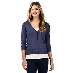 Red Herring - Blue V neck cardigan