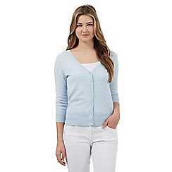 Red Herring - Light blue V-neck cardigan