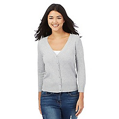 Red Herring - Grey V-neck cardigan
